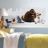 Secret Life of Pets Peel and Stick Giant Wall Graphic Wall Decal