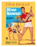 Elvis Presley in Blue Hawaii Giclée-tryk af Rolf Goetze