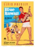 Elvis Presley in Blue Hawaii Posters af Rolf Goetze