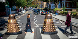 Doctor Who- Crossing Abbey Road Photo
