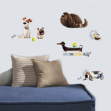 Secret Life of Pets Boys Peel and Stick Wall Decals Wall Decal