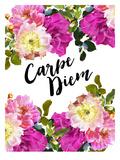 Carpe Diem-Floral Art by Amy Brinkman