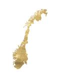Norge Poster av Pop Monica