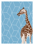 Giraffe Art by Jorey Hurley