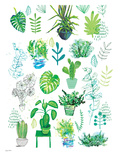 Plants Prints by Paula Mills