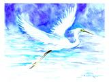 Heron 5 Prints by Suren Nersisyan