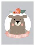 You Are Beary Loved Kunst af Amy Brinkman