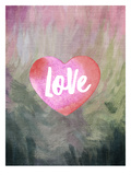Love Heart Posters by Amy Brinkman