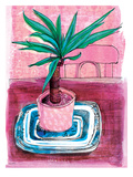 Plant Pot 2 Poster by Paula Mills