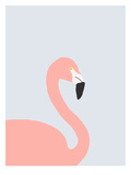 Flamingo Art by Jorey Hurley