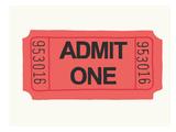 Ticket Prints by Jorey Hurley