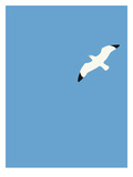 Flying Bird Poster by Jorey Hurley