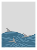 Dolphins Poster by Jorey Hurley