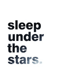 Sleep Under The Stars Stampe di Pop Monica