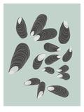 Mussels Reprodukcje autor Jorey Hurley