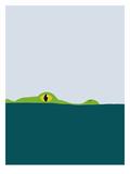 Crocodile Reprodukcje autor Jorey Hurley