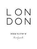 Londres Affiches par Pop Monica