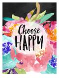 Choose Happy Prints by Amy Brinkman