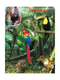 The Rainforest Pôsters por  Encyclopaedia Britannica