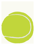 Tennis Ball Print by Jorey Hurley