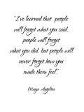Maya Angelou Affiche par Pop Monica
