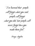 Maya Angelou Plakat af Pop Monica