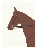 Police Horse Print by Jorey Hurley