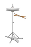 Hi-Hat Cymbals and Drumsticks, Percussion, Musical Instrument Posters by  Encyclopaedia Britannica