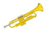 Trumpet, Brass, Musical Instrument Posters