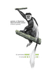 Guereza or Abyssinian, Black-And-White Colobus (Colobus Guereza), Monkey, Mammals Poster