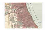 Map of the Southside of Chicago (C. 1900), Maps Giclee Print