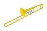 Trombone, Brass, Musical Instrument Prints by  Encyclopaedia Britannica