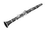 E-Flat or Soprano Clarinet, Woodwind, Musical Instrument Prints