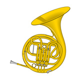 French Horn, Brass, Musical Instrument Photo by  Encyclopaedia Britannica