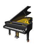Concert Grand Piano, Musical Instrument Prints