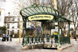 Metropolitain Montmartre Giclee Print by Philippe Hugonnard