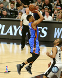 Russell Westbrook 2016 NBA Playoff Action Photo