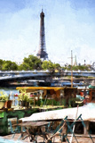 Lunch in Paris Giclee Print by Philippe Hugonnard