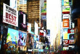 Times Square Sensation Giclee Print by Philippe Hugonnard