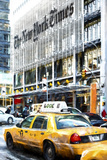 New York Taxi Times Giclee Print by Philippe Hugonnard