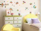 Owls Lepicí obraz na stěnu