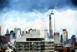 One World Trade Center Skyline Giclee Print by Philippe Hugonnard