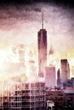 One World Trade Center Cityscape II Giclee Print by Philippe Hugonnard