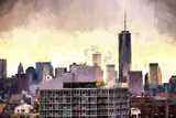 One World Trade Center Cityscape Giclee Print by Philippe Hugonnard