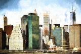 NYC Design Giclee Print by Philippe Hugonnard