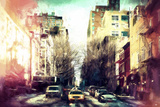 Sunrise Colors NYC Giclee Print by Philippe Hugonnard