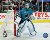 Martin Jones San Jose Sharks Action Photo