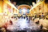 Grand Central Station Giclee Print by Philippe Hugonnard