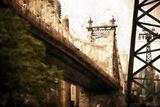 59th Street Bridge Giclee Print by Philippe Hugonnard