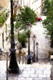 Montmartre Stairway Giclee Print by Philippe Hugonnard